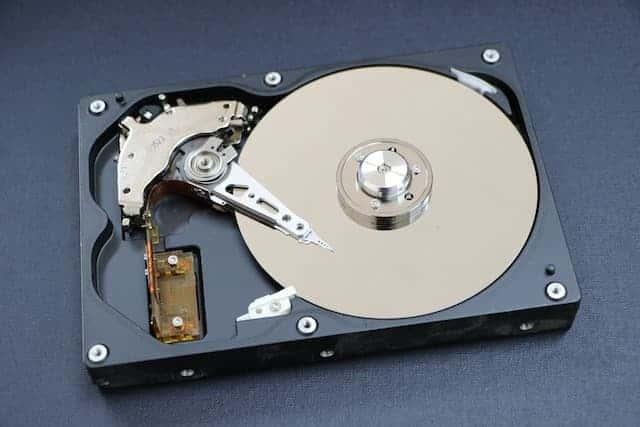 Veilige verwijdering gevoelige data harde schijf